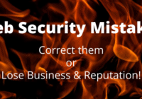 web security mistakes