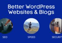 wordpress seo, speed & security